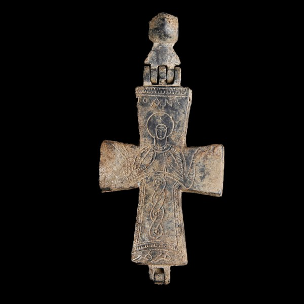 Byzantine Enkolpion Cross with St. John
