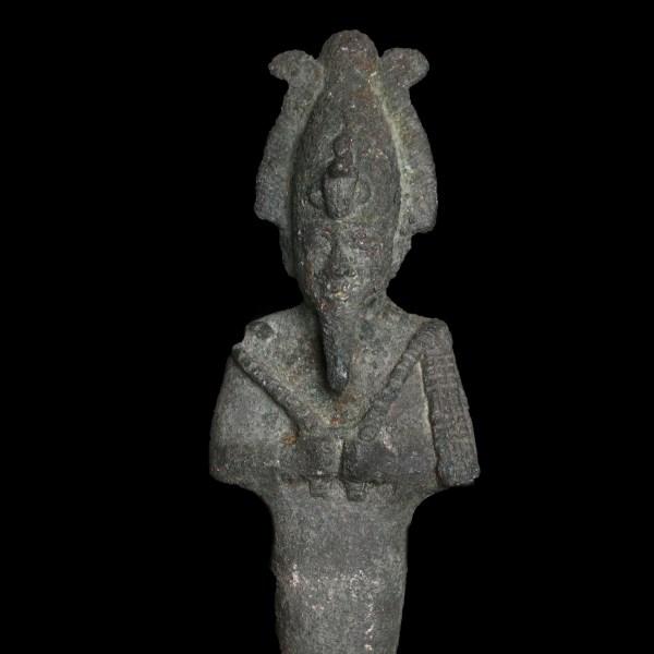Osiris Bronze Statuette