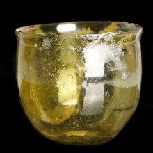 Frankish Yellow Glass Beaker