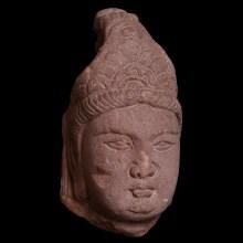 Tang Dynasty Head of Bodhisattva
