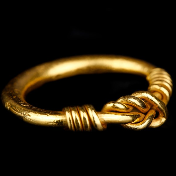 Viking Solid Gold Ring