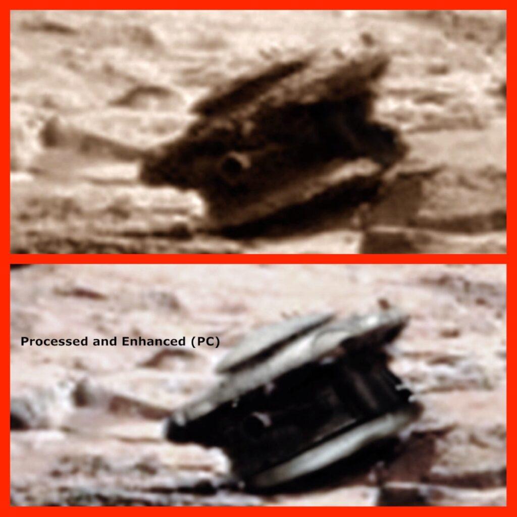 Drone Estrangeiro em Marte, antigo código, Espaço, NASA