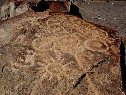 Los misteriosos petroglifos del Perú.