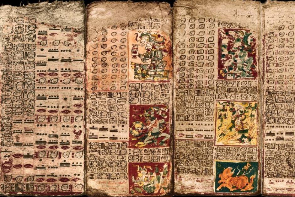 The Preface of the Venus Table of the Dresden Codex. Image Credit: UC Santa Barbara