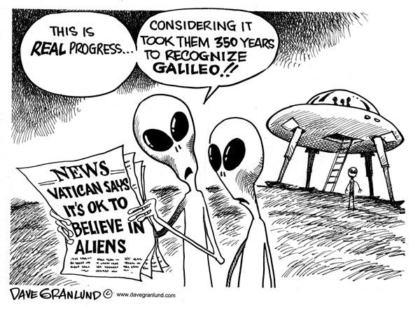 WikiLeaks: The Vatican knows Alien civilizations exist