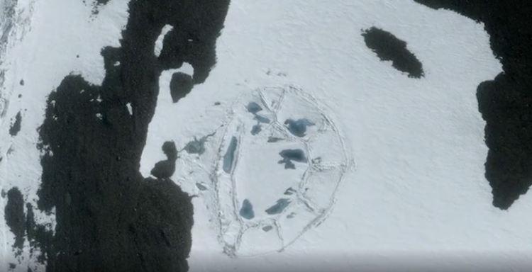 Evidencia de una civilización antigua en la Antártida