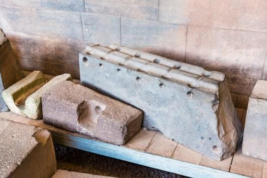 Polygonal masonry Inca brick