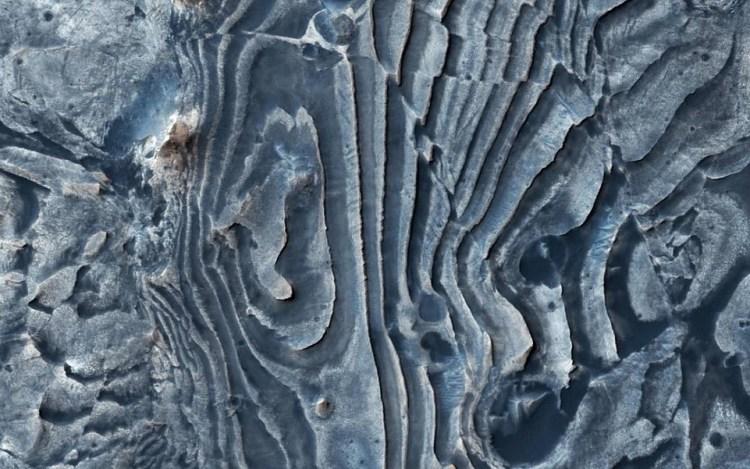 Se encuentra agua en Marte