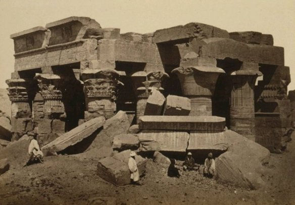 Kom Ombo Temple before reconstruction