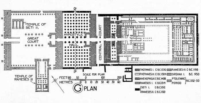 Amon Temple Plan