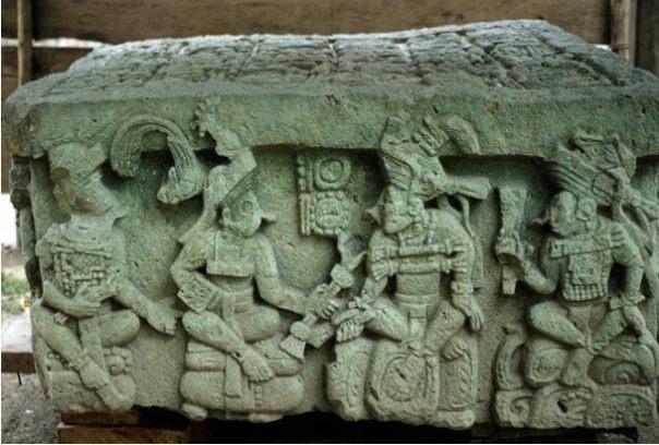 Altar Q, Copán, Honduras (Simon Fraser University Museum)