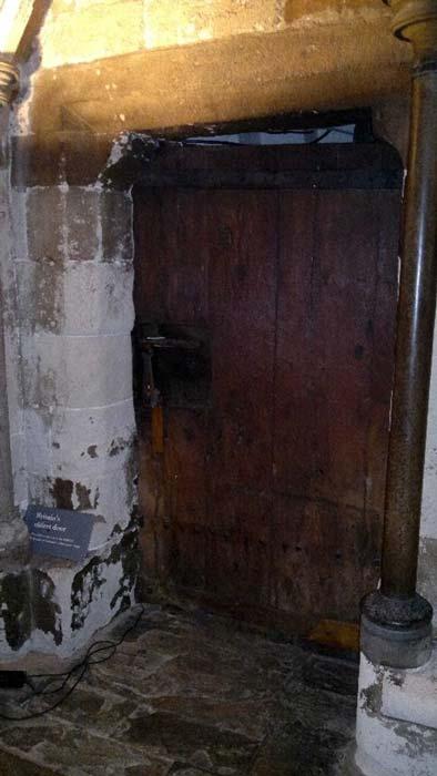 La puerta más antigua de Gran Bretaña. De la Abadía de Eduardo el Confesor, construida a mediados del siglo XI (slocumjoseph/CC BY NC 2.0)