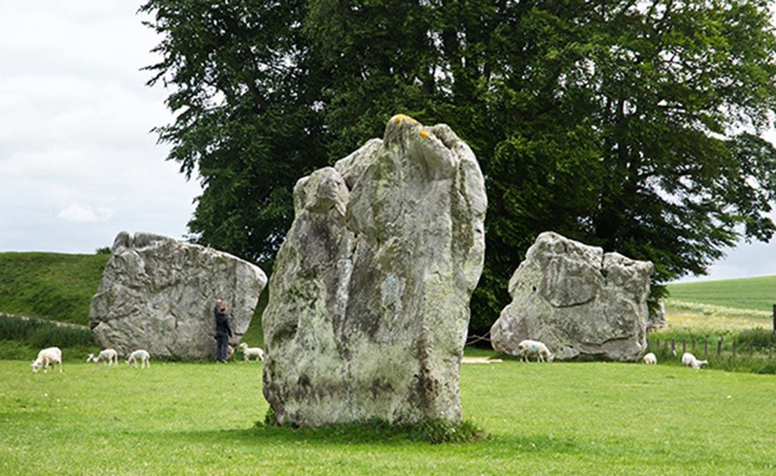 Círculo de piedras de Avebury. Fotografía: Freddy Silva