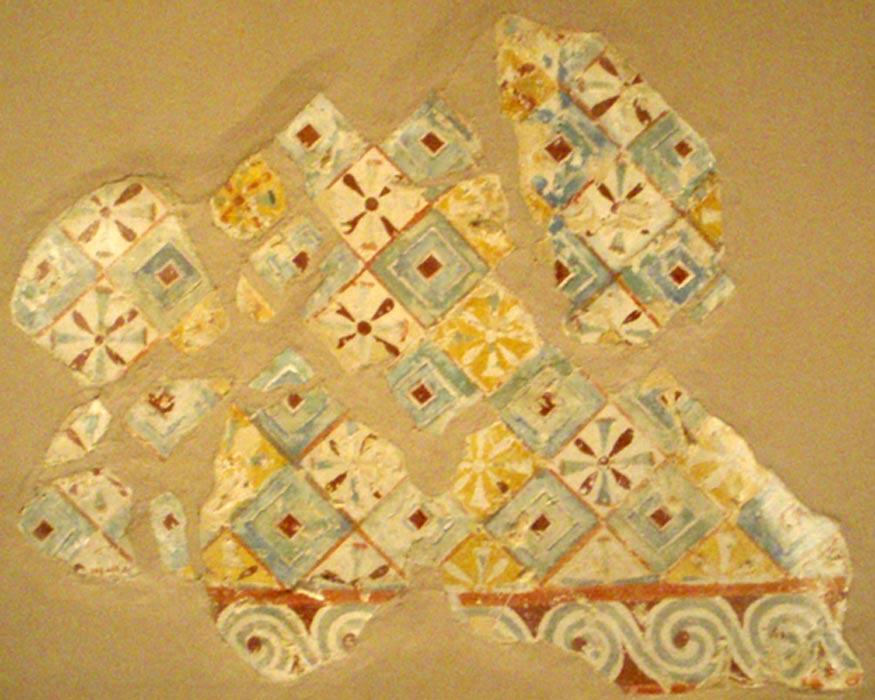 Pinturas decorativas del techo de la tumba de Senenmut (SAE 71). (CC BY-SA 3.0)