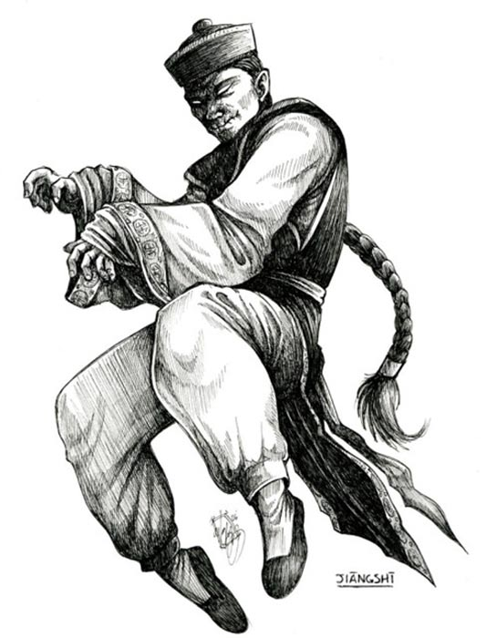 Dibujo de un Jiang Shi (Imagen original)