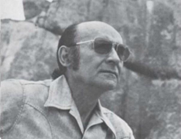 El Dr. Cabrera, ya fallecido, fundador del Museo Científico Javier Cabrera, en una imagen retrospectiva del año 1976. (Ernesto Cabrera/CC BY-SA 4.0)