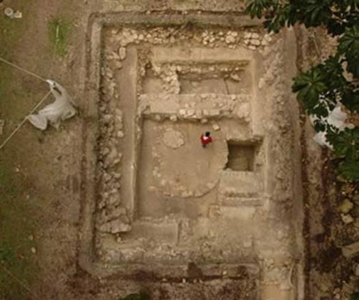 Excavaciones de Ceibal. (Universidad de Arizona)