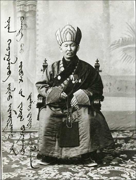 Nacido en el año 1852, el lama Itigilov fue un destacado personaje de la vida espiritual de la Rusia zarista justo antes de la Revolución Bolchevique. Fotografía: Sangha Tradicional Budista de Rusia