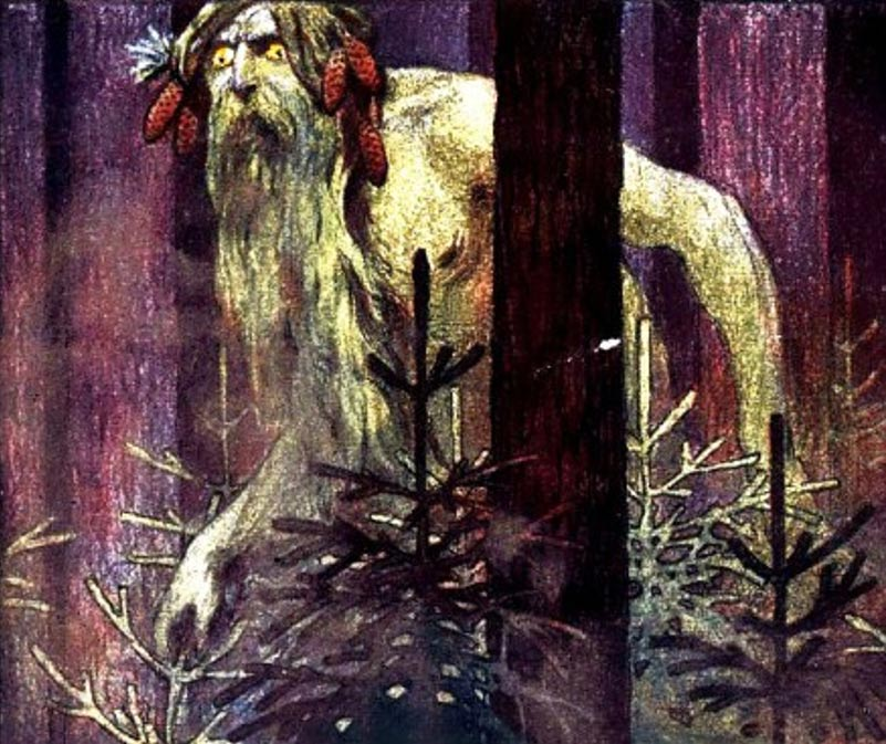 Representación artística de un gigante rumano. (The Incredibly Long Journey)