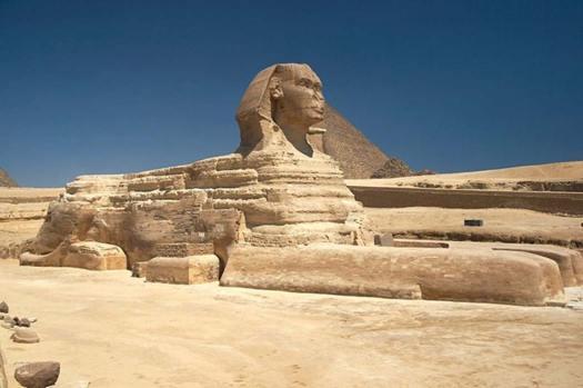 Gran Esfinge de Guiza, Egipto. (CC BY-SA 3.0)