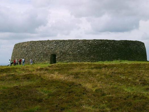 Grianán Ailigh, Condado de Donegal, Irlanda (Public Domain)