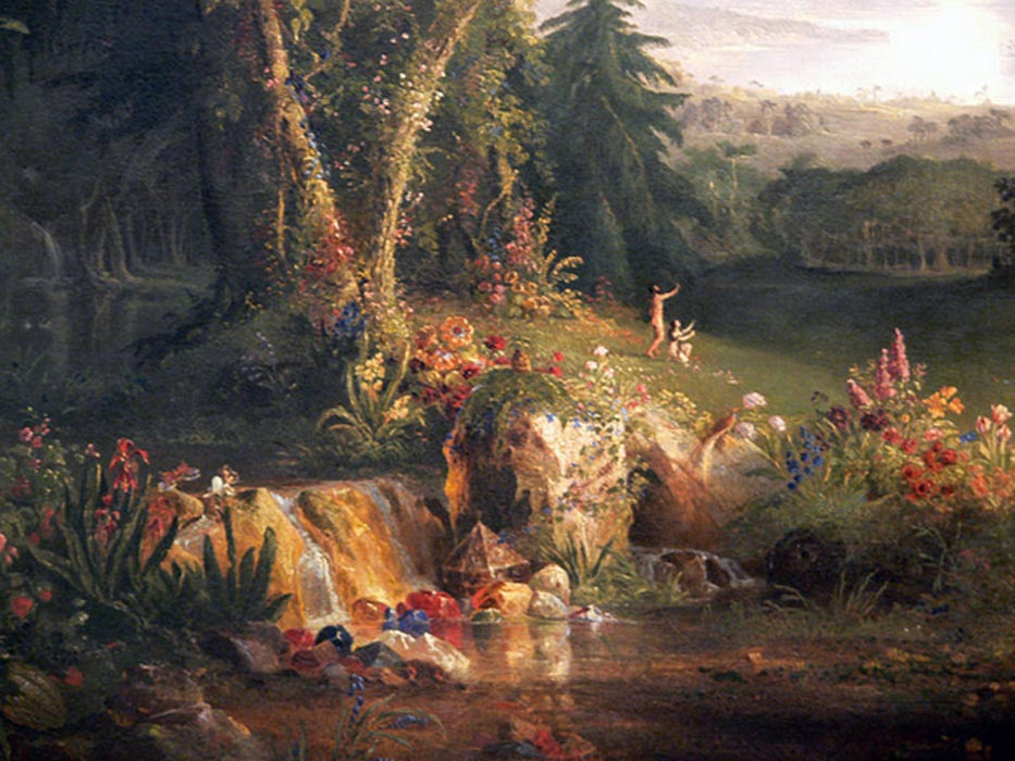 El Jardín del Edén. (Public Domain)
