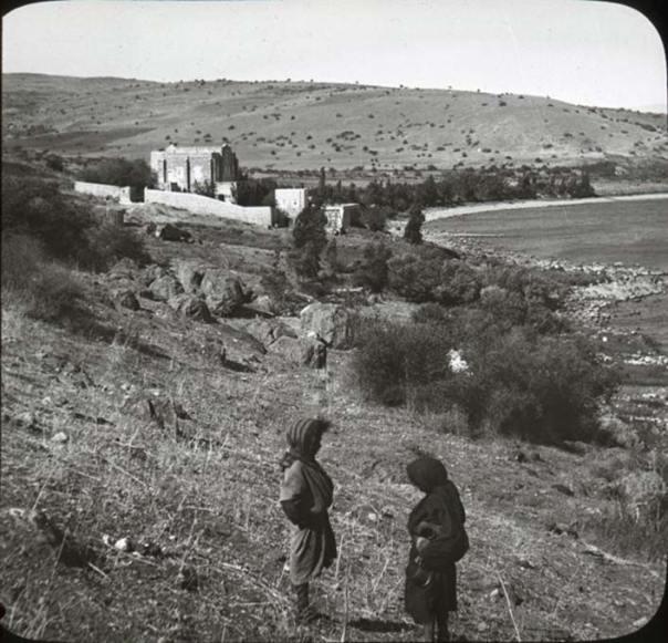 La zona del mar de Galilea que se creía en el pasado la ubicación de la antigua Betsaida. (OSU Special Collections)
