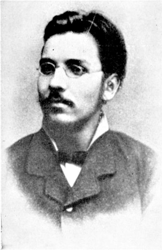 Retrato de Michał Wojnicz, más tarde conocido como Wilfrid Michael Voynich, (c. 1885), cortesía de Rafał T. Prinke, (Dominio público)
