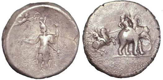 Moneda de plata en la que se conmemoran las victorias de Alejandro Magno, c. 322 a. C. (Public Domain)