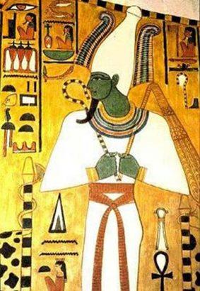 Osiris, el dios egipcio equivalente al antiguo Hombre Verde del Neolítico. (Public Domain)