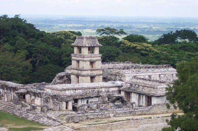 Palacio y Observatorio de Palenque. (CC BY 3.0)
