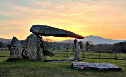 Pentre Ifan, el dolmen más conocido, más antiguo y mejor conservado de todo el Reino Unido. (Fotografía: Hipertextual)
