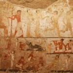 Descubierta en Egipto antigua tumba de una sacerdotisa de Hathor con singulares pinturas murales