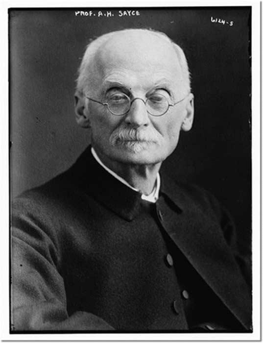 Profesor A.H. Sayce