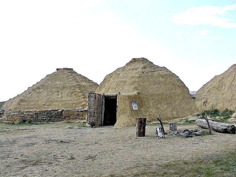 Reconstrucción de las antiguas viviendas prehistóricas de Arkaim. (Kudrjashov Andrey/CC BY-SA 3.0)