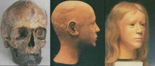 Reconstrucción facial del rostro de Windeby I realizada por Richard Helmer. (Fair Use)