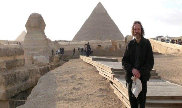 Robert M. Schoch, profesor asociado de Ciencias Naturales en el College of General Studies de la Universidad de Boston y defensor de la hipótesis de la erosión hídrica de la Esfinge. (Fotografía: Código Oculto)