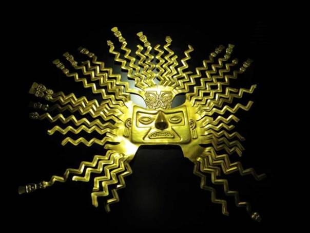 El Sol de Oro de La Tolita. (Cuyabeno Lodge)