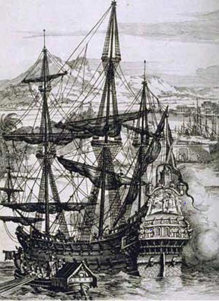 Galeón español (Wikimedia Commons)