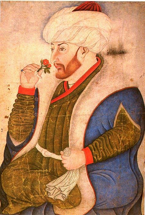 El sultán Mehmet II dio orden de que se iniciara la construcción del Palacio de Topkapi en torno al año 1460. (Public Domain)