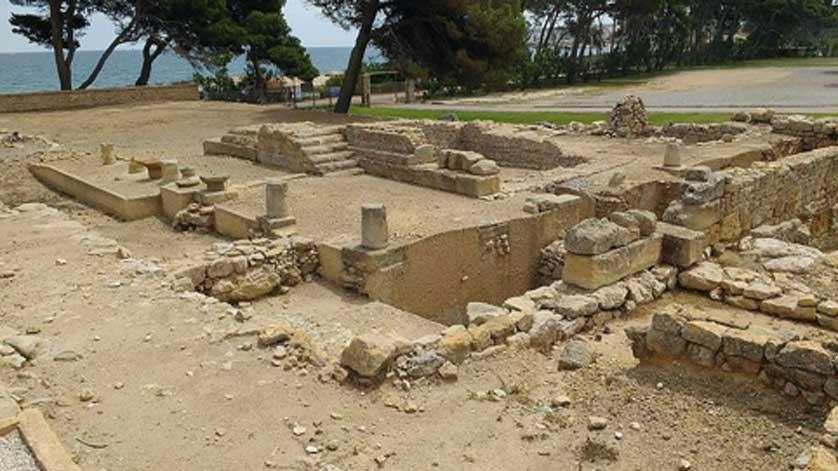 Templo de Serapis, Ampurias. (AugusteBlanqui/CC BY SA 4.0)