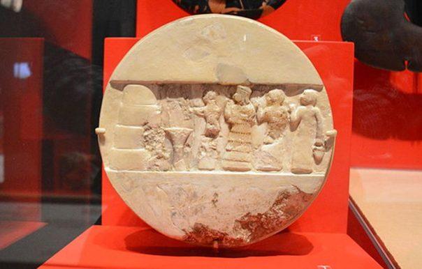 """Portada - """"Disco de Enheduanna"""", Museo Penn de Filadelfia. (CC0 1.0)"""