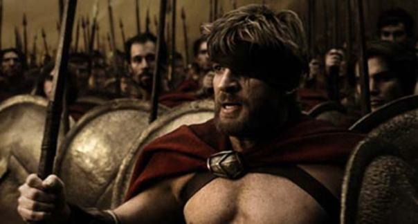 Portada - Espartanos, fotograma de la película '300'. (Σταύρος / Flickr)