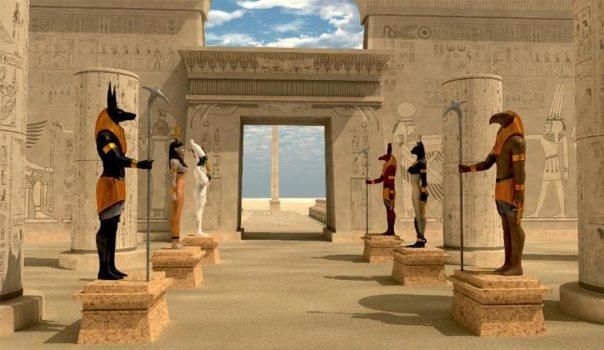 Imagen de portada: Dioses egipcios. Fuente: Catmando / Adobe Stock
