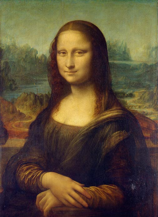 La Mona Lisa de Leonardo da Vinci Public Domain