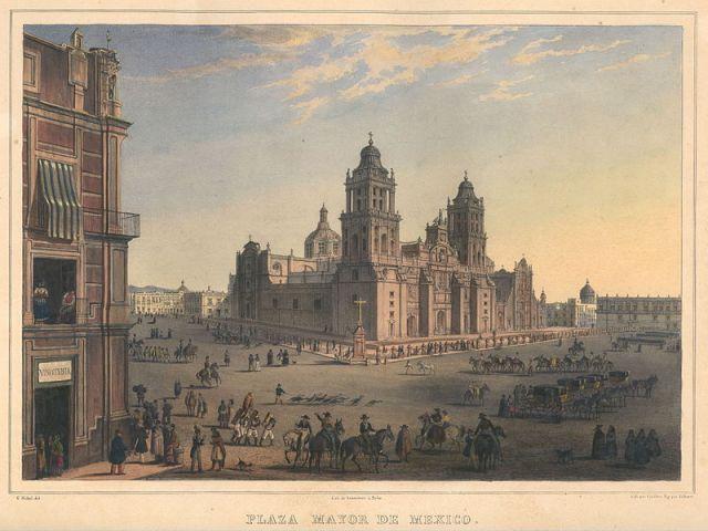 Plaza Mayor, Ciudad de México (Wikimedia Commons)
