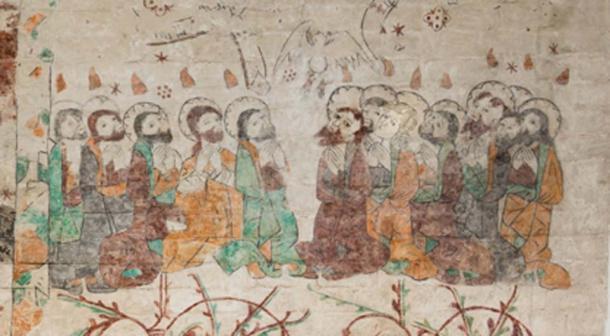 María Magdalena y los doce apóstoles. (Stig Alenas / Adobe Stock)