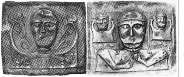 El primer nivel representado en placas masculinas (izquierda) y femeninas (derecha). (Autor proporcionado)