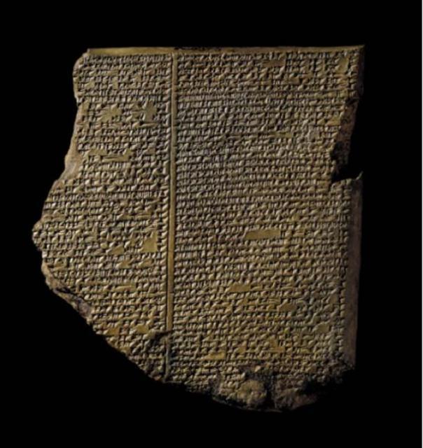 La tableta de inundación. (Imagen: Los Fideicomisarios del Museo Británico)