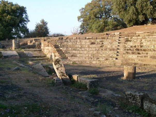 Teatro de Tusculum. (Dominio publico)